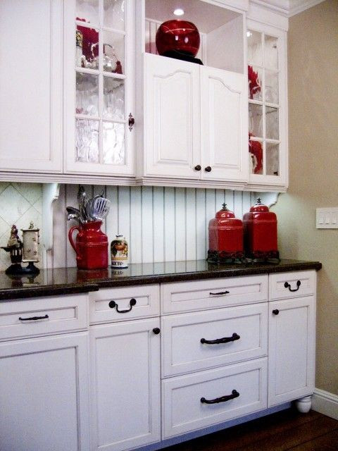 Best ideas about Red Black And White Kitchen Decor . Save or Pin Red Kitchen Accents on Pinterest Now.