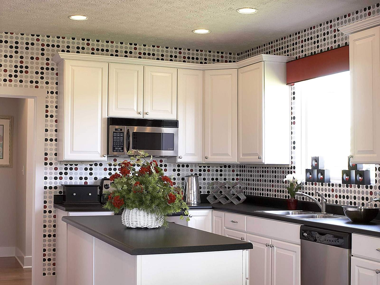 Best ideas about Red Black And White Kitchen Decor . Save or Pin Red Black White Kitchen Decor Now.
