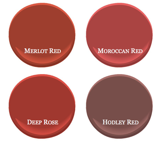 Best ideas about Red Paint Colors . Save or Pin Benjamin Moore's bestselling red paint colors – Room Lust Now.