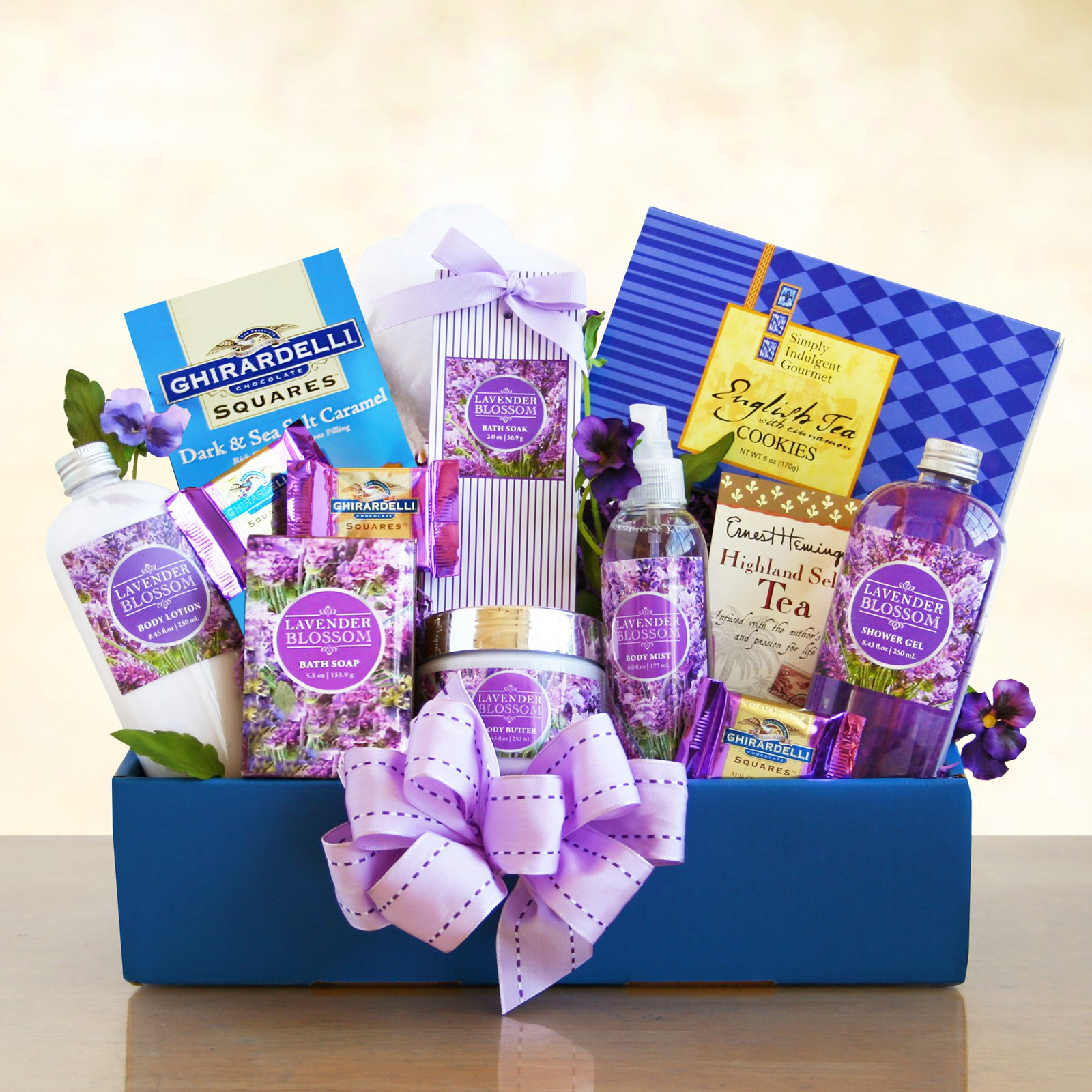 Best ideas about Relaxation Gift Basket Ideas . Save or Pin Lovely Lavender Relaxation Spa Gift Basket Gift Baskets Now.