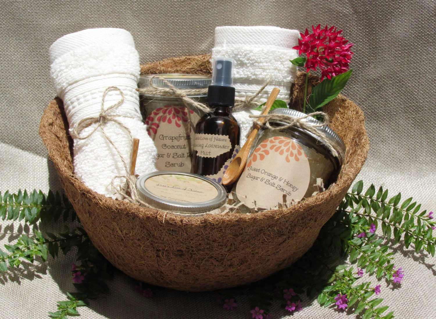Best ideas about Relaxation Gift Basket Ideas . Save or Pin Custom Gift Basket Proceeds to Charity Relaxation Gift Spa Now.