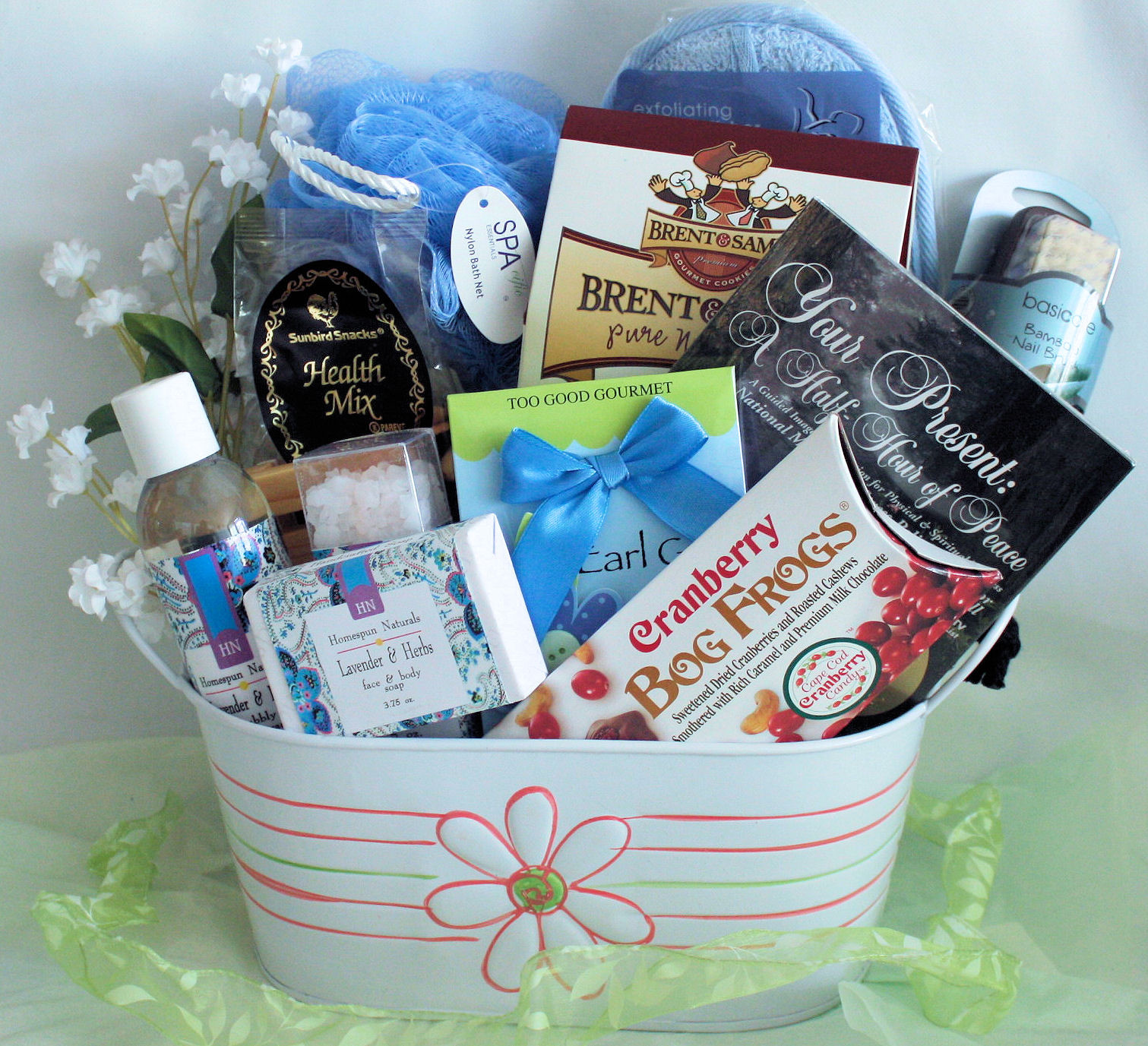 Best ideas about Relaxation Gift Basket Ideas . Save or Pin Healthy Relaxation Basket Deluxe The Healthy Basket Now.