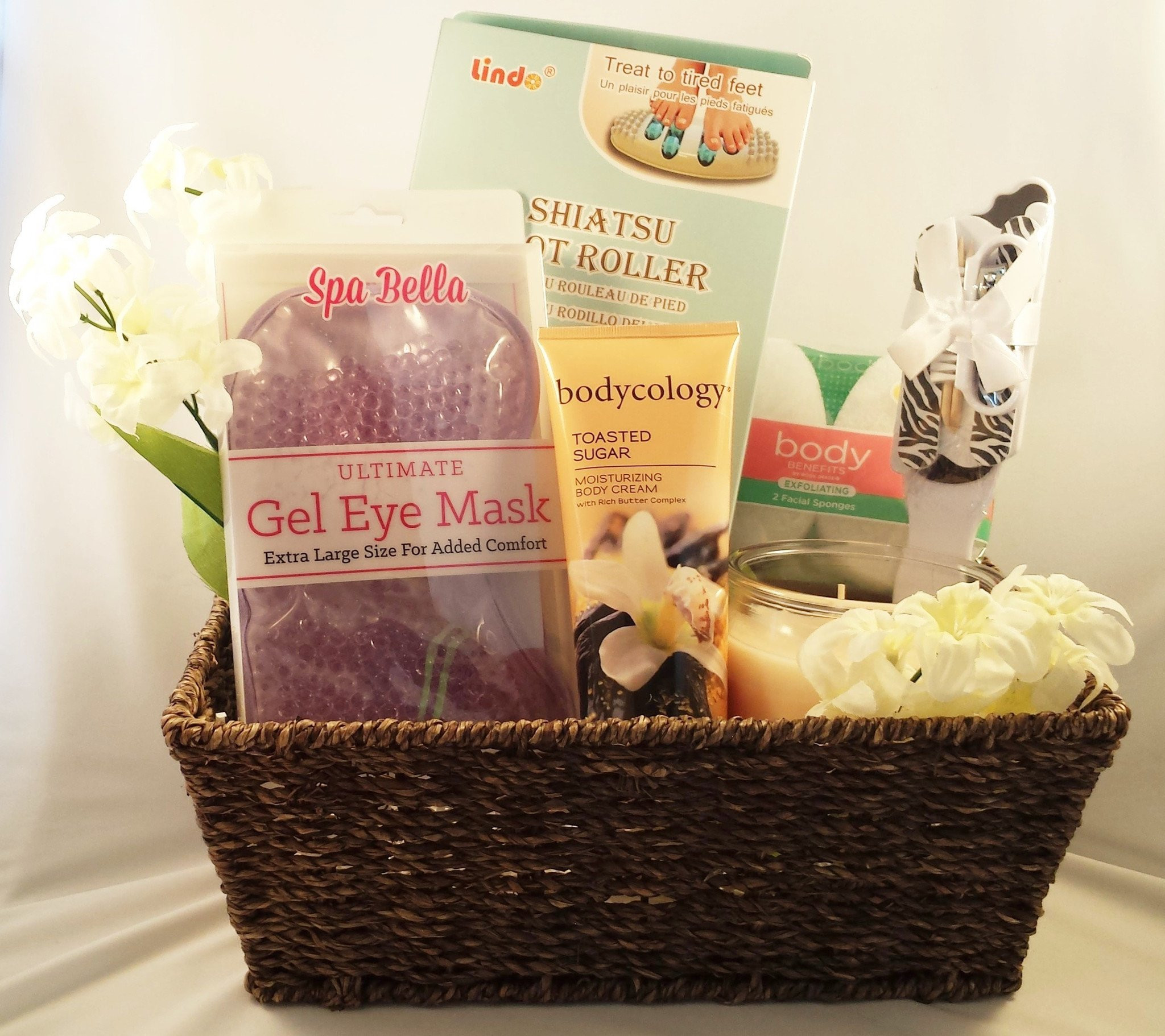 Best ideas about Relaxation Gift Basket Ideas . Save or Pin Vanilla Gift Basket – Gift Ftempo Now.
