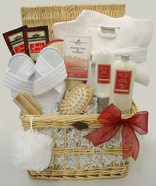 Best ideas about Relaxation Gift Basket Ideas . Save or Pin A Day at the Spa Relaxation Gift Basket Free Shipping Now.