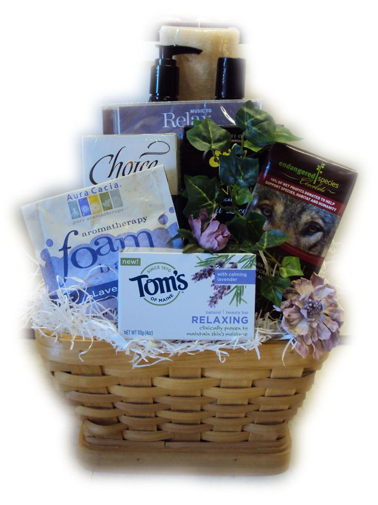 Best ideas about Relaxation Gift Basket Ideas . Save or Pin Relaxation promoting t basket Now.
