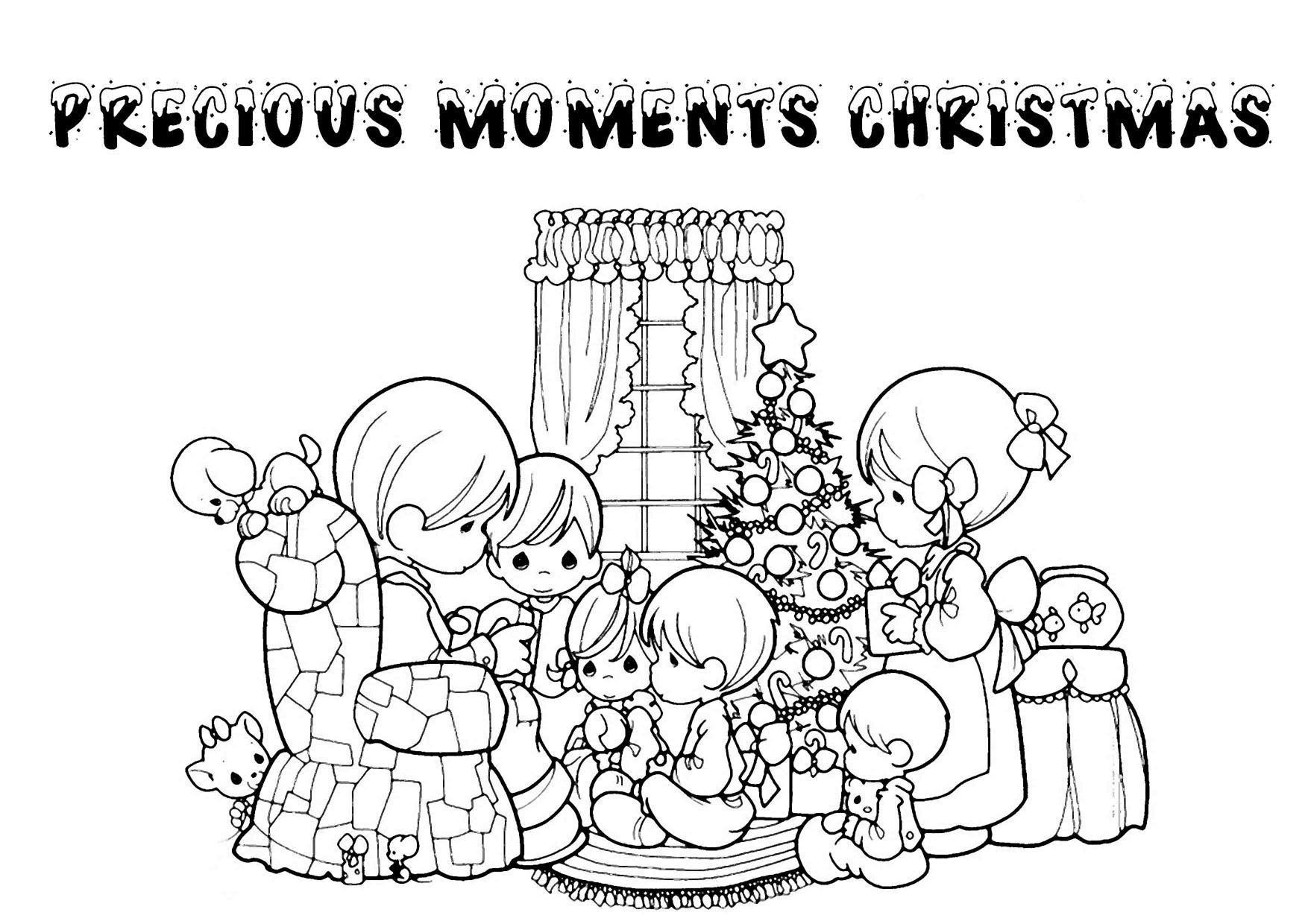 Religious Christmas Coloring Pages For Kids Printable  Christmas Religious Printable Coloring Pages Coloring Home