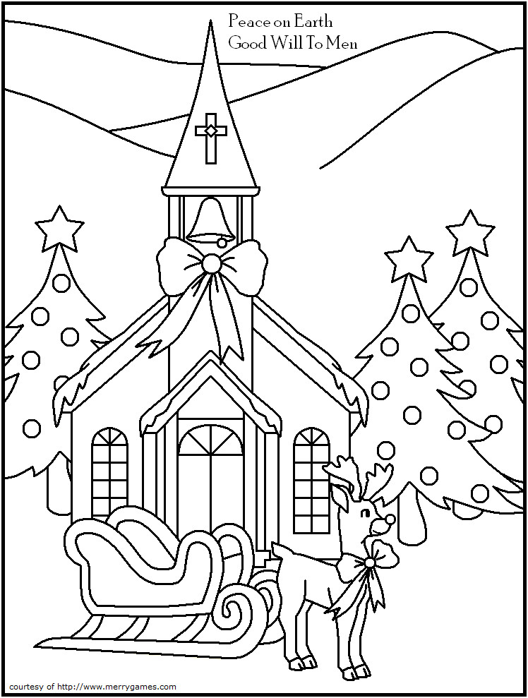 Religious Christmas Coloring Pages For Kids Printable  Religious Color Pages AZ Coloring Pages