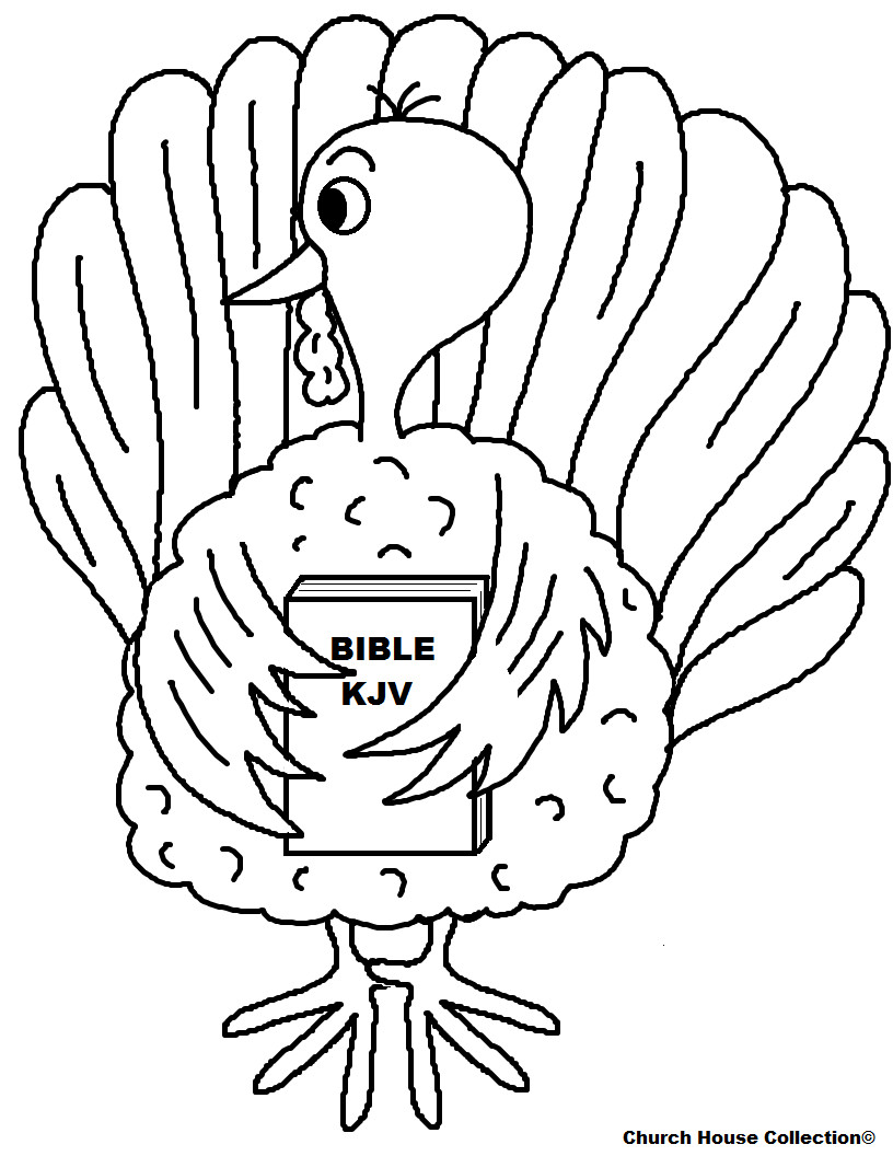 Religious Thanksgiving Coloring Pages For Kids  Free Thanksgiving Turkey Sunday School Lessons For