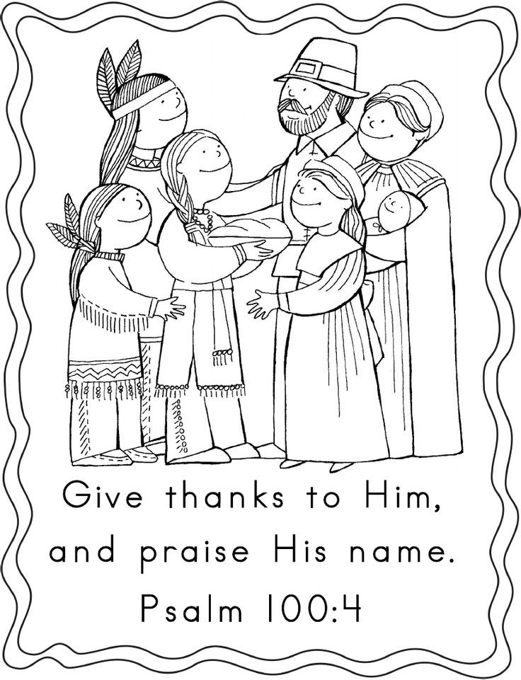 Religious Thanksgiving Coloring Pages For Kids  Thanksgiving Coloring Pages