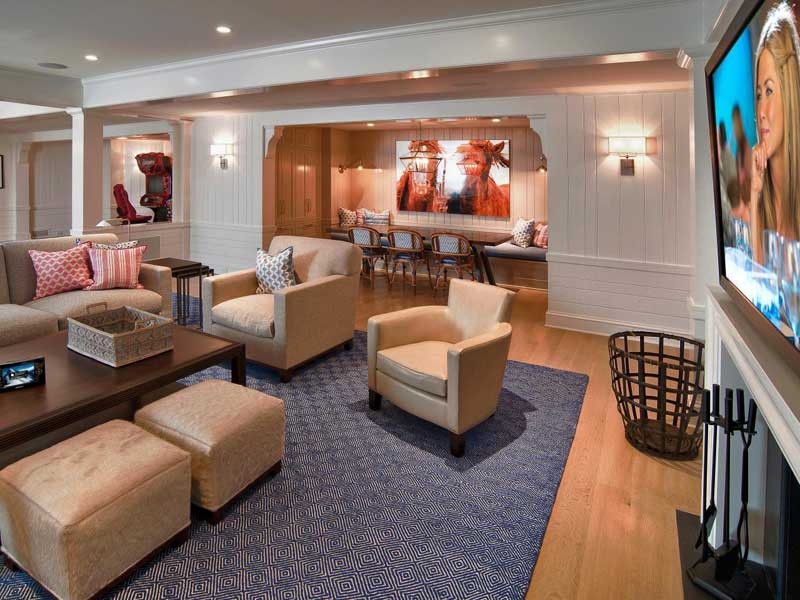 Best ideas about Remodel Basement Ideas . Save or Pin Small Basement Remodeling Ideas Now.