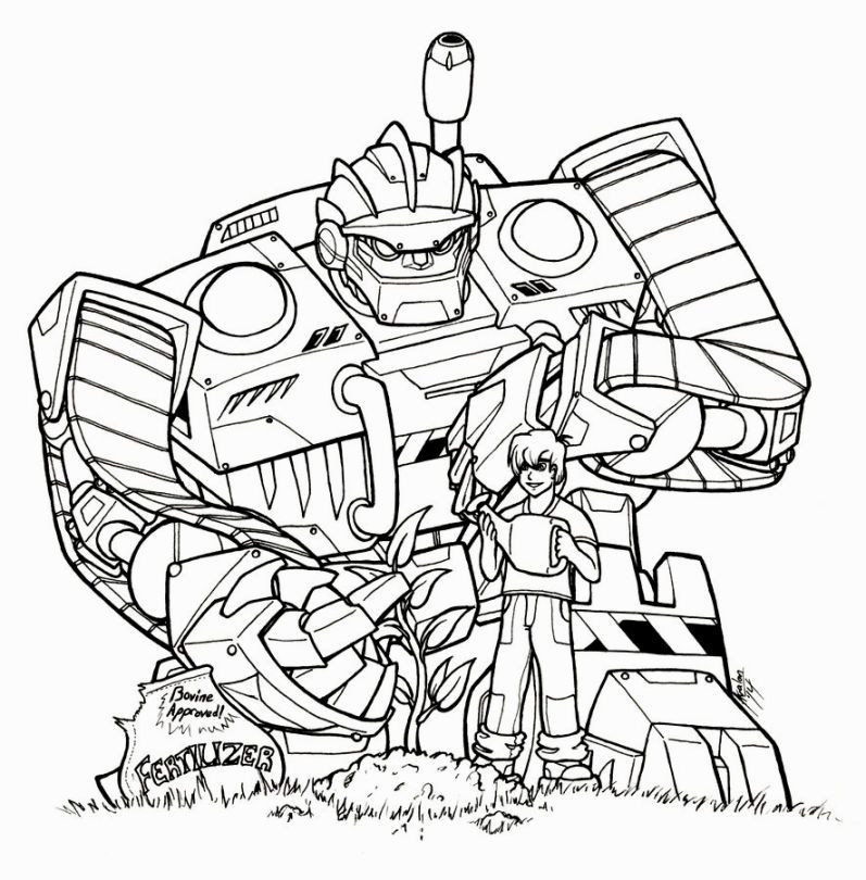 Rescue Bot Coloring Pages  Transformer Rescue Bots Coloring Pages …