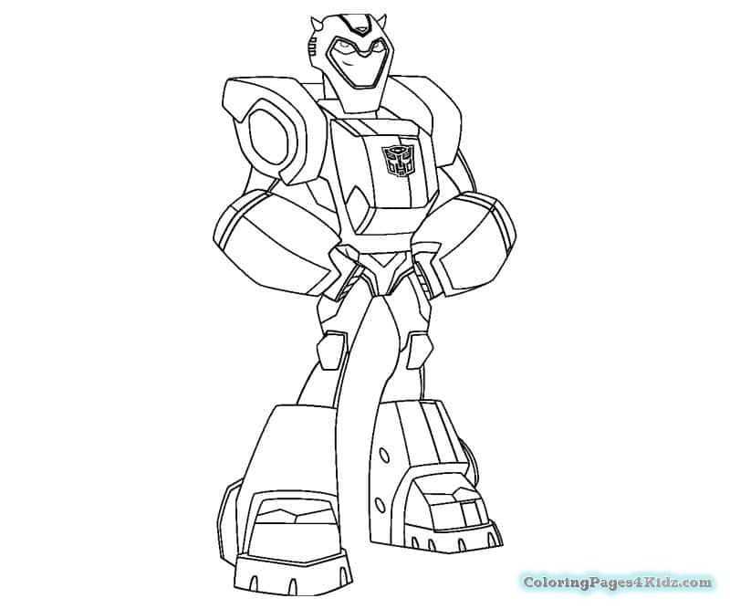 Rescue Bot Coloring Pages  Bumblebee Rescue Bots Coloring Pages