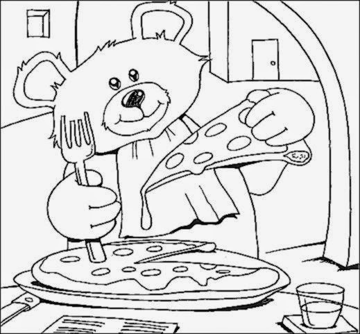 Restaurant Coloring Pages For Kids  Restaurant Coloring Sheets
