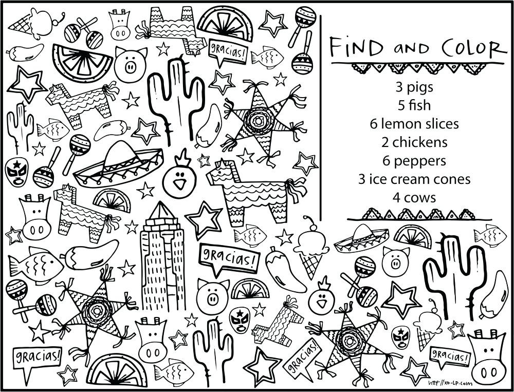 Restaurant Coloring Pages For Kids  Restaurant Coloring Sheets Pages Kids Pasta Be ing Color