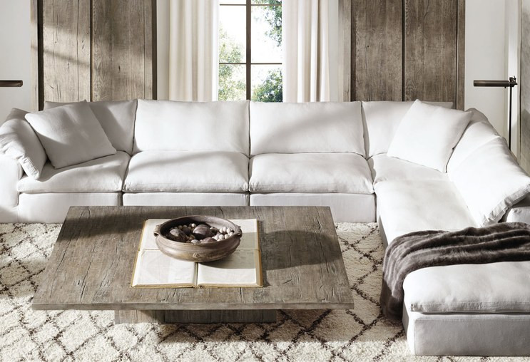 Best ideas about Restoration Hardware Cloud Sofa Reviews . Save or Pin Get a First Look at Restoration Hardware s New Home Now.
