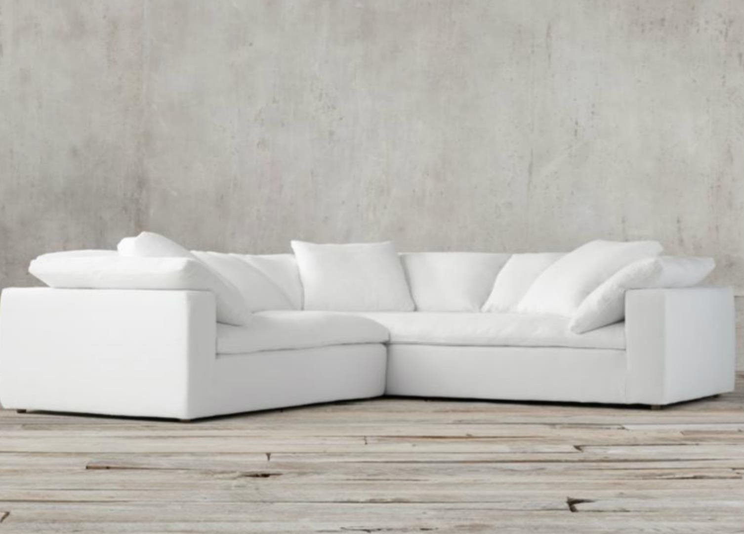 Best ideas about Restoration Hardware Cloud Sofa Reviews . Save or Pin Sofa Excellent restoration hardware sofa Cloud Sofa Now.