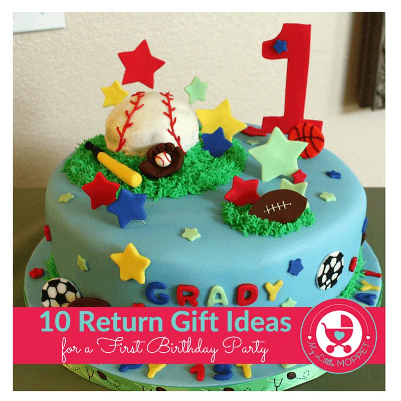 Return Gift Ideas For Birthday Party  10 Novel Return Gift Ideas for a First Birthday Party