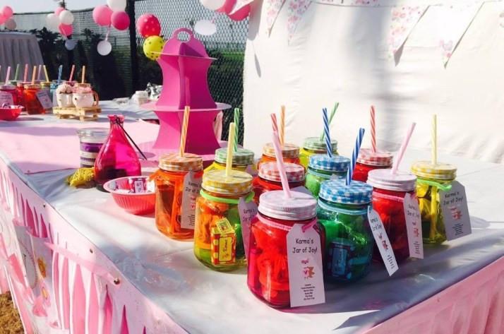 Return Gift Ideas For Birthday Party  Mason Jar Birthday Return Gifts and Party Favours Ideas
