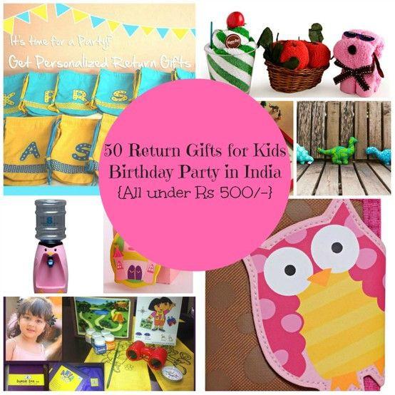 Return Gift Ideas For Birthday Party  Return ts Ideas for kids in India 50 return ts for