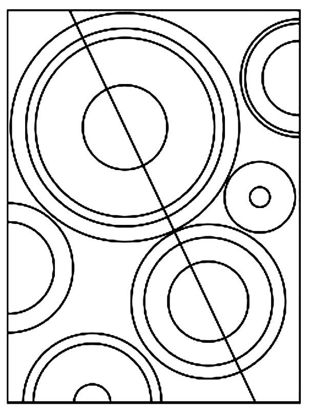 Rhythm Coloring Sheets For Kids  Practicing Shapes and Colors with Sonia Delaunay