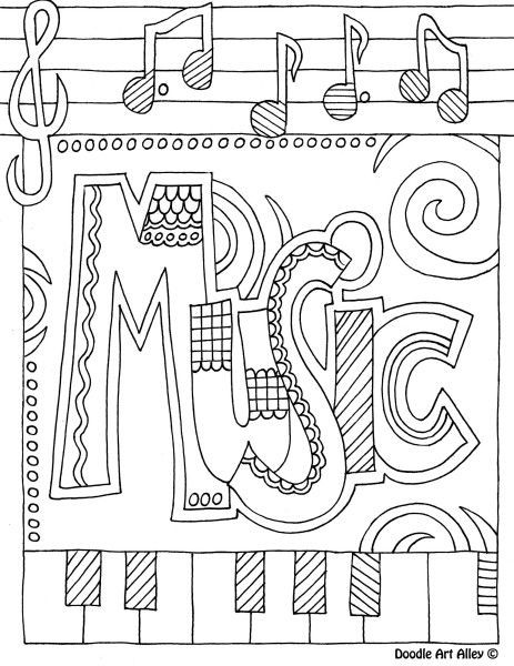 Rhythm Coloring Sheets For Kids  Printable Music Worksheets For Preschoolers music theory