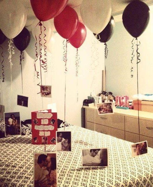 Romantic Birthday Gift Ideas Her  25 Romantic Valentines Bedroom Decorating Ideas
