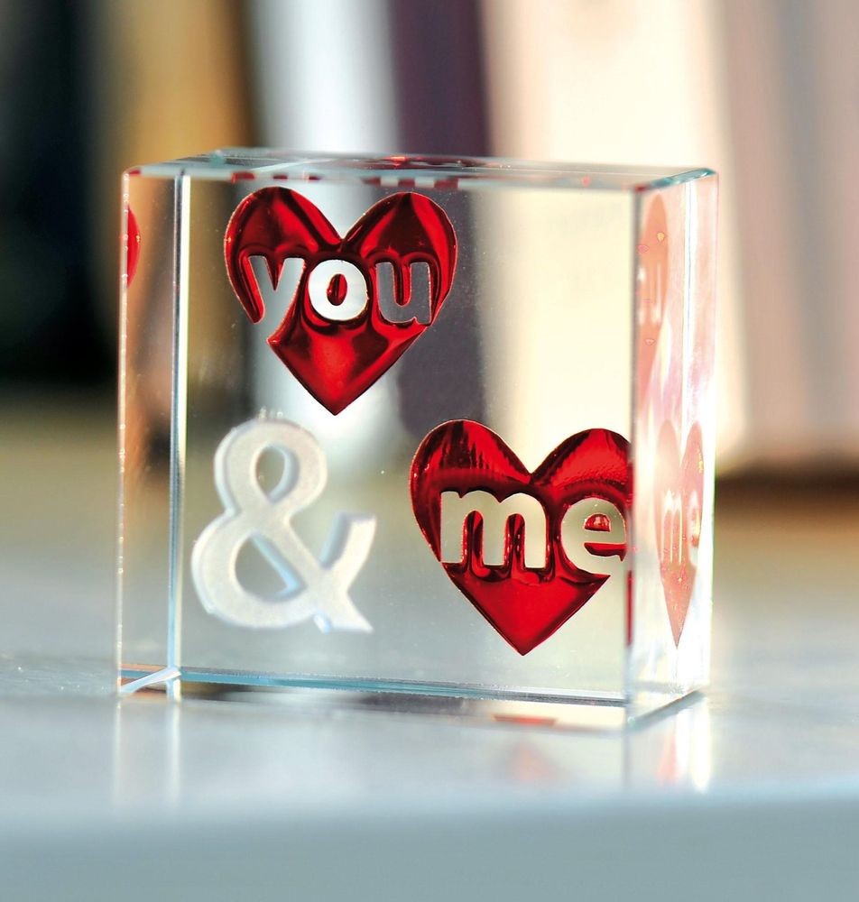 Romantic Birthday Gift Ideas Her Spaceform You Me Glass Love For