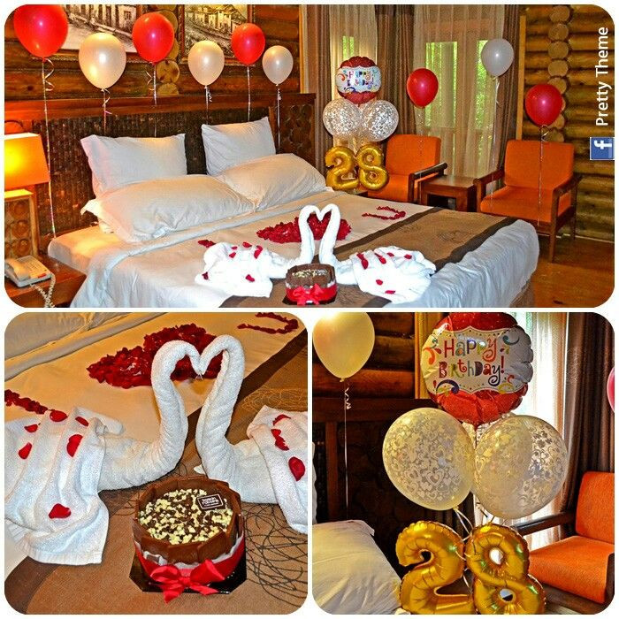 Romantic Birthday Gift Ideas Her Decorated Hotel Room For His