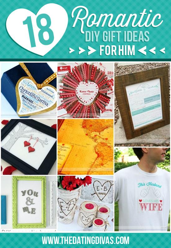 Romantic Boyfriend Gift Ideas  Gift Ideas for Boyfriend Romantic Gift Ideas For Him Diy