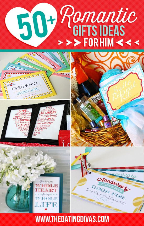 Romantic Boyfriend Gift Ideas  50 Romantic Gift Ideas for Him