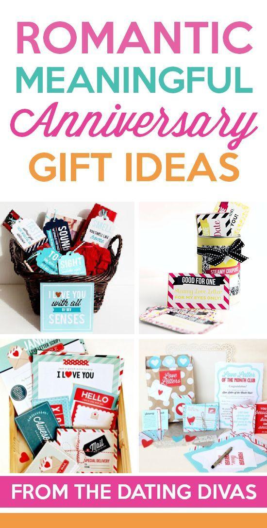 Romantic Boyfriend Gift Ideas  Romantic Anniversary Gift Ideas SO many unique and