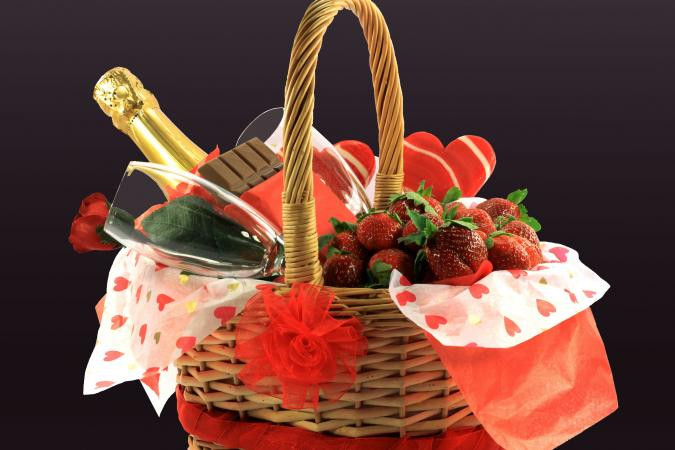 Best ideas about Romantic Gift Basket Ideas For Couples . Save or Pin Wedding Night Gift Baskets Now.