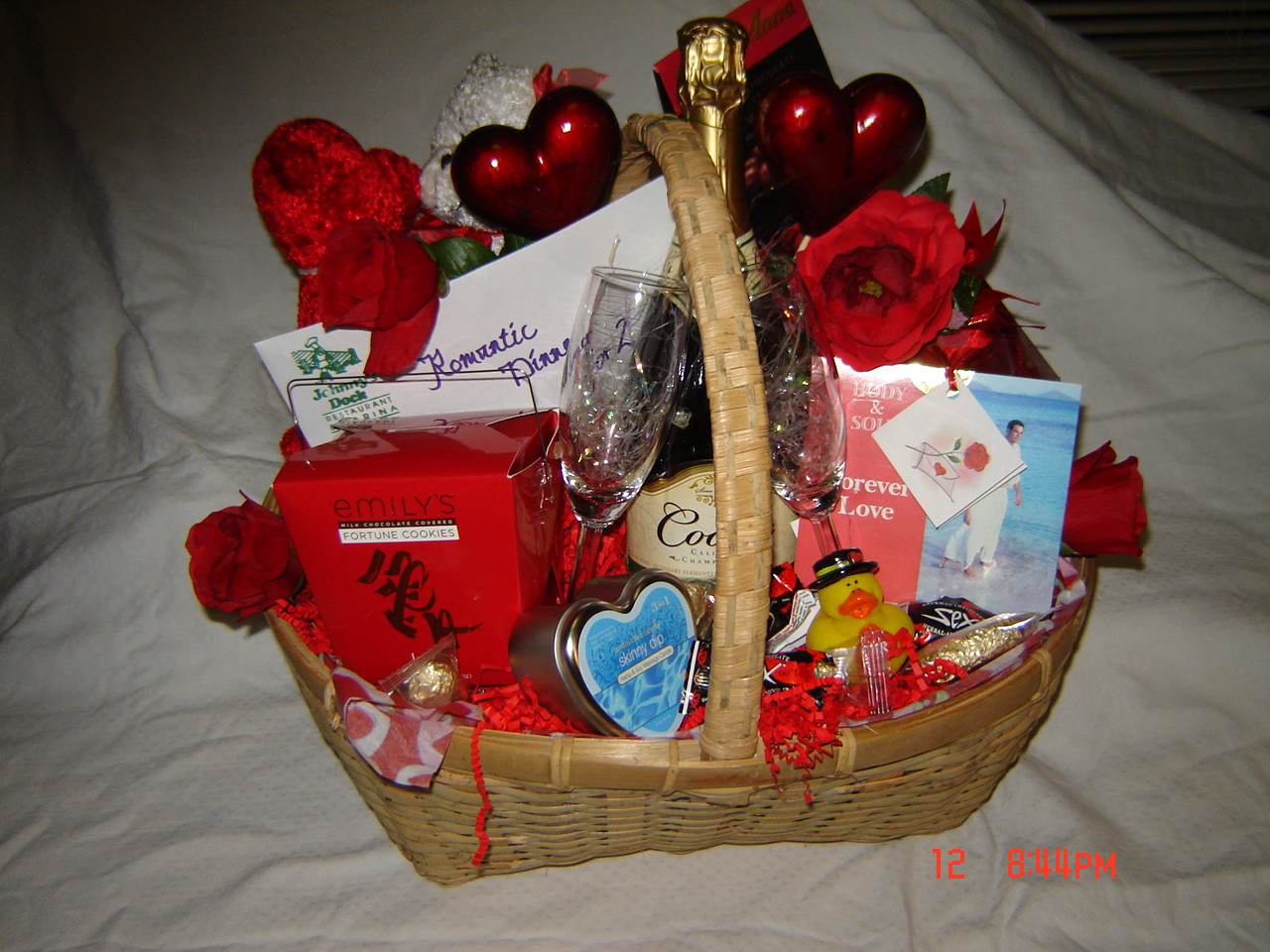 Best ideas about Romantic Gift Basket Ideas For Couples . Save or Pin 10 Unique Christmas Gifts Under $20 2010 Everyday Mom Now.