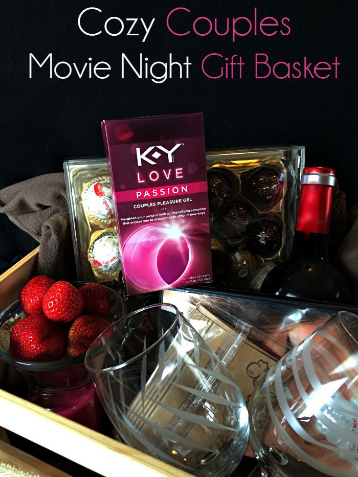Best ideas about Romantic Gift Basket Ideas For Couples . Save or Pin Cozy Couples Movie Night Gift Basket Moments With Mandi Now.