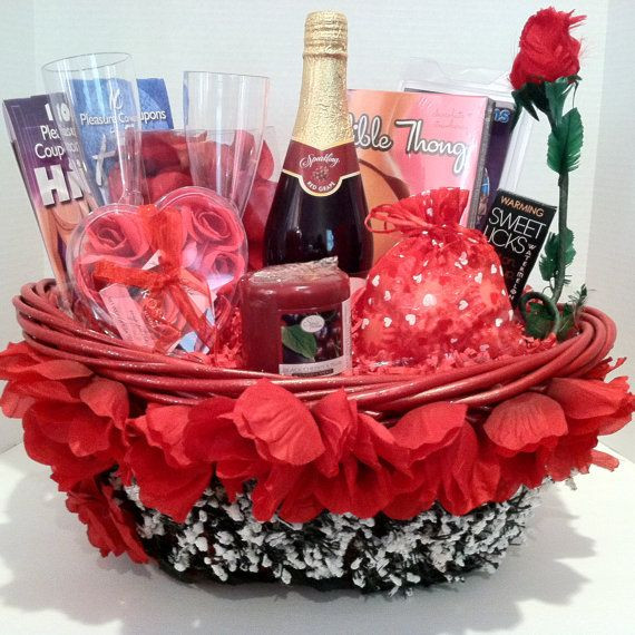 Best ideas about Romantic Gift Basket Ideas For Couples . Save or Pin 1000 ideas about Valentine s Day Gift Baskets on Now.