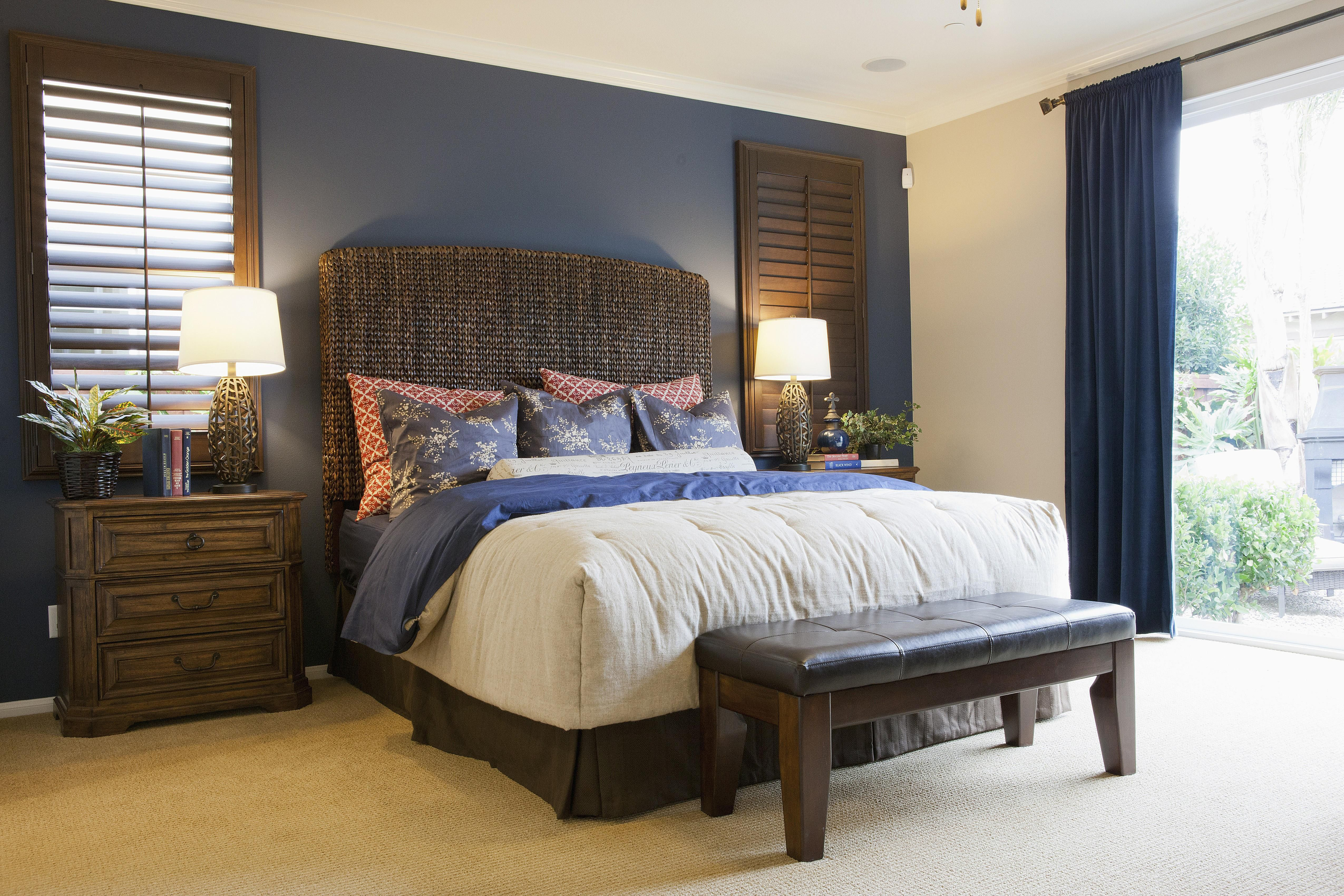 Best ideas about Rooms With Accent Walls . Save or Pin How to Choose an Accent Wall and Color in a Bedroom Now.
