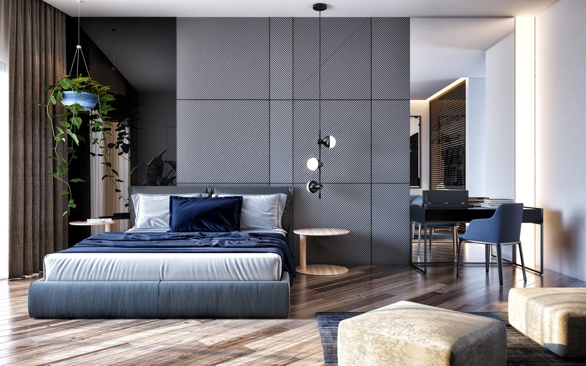 Best ideas about Rooms With Accent Walls . Save or Pin 44 Awesome Accent Wall Ideas For Your Bedroom Now.