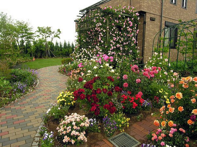 Best ideas about Rose Garden Ideas . Save or Pin 11 beautiful Rose Garden Designs for small yard Now.