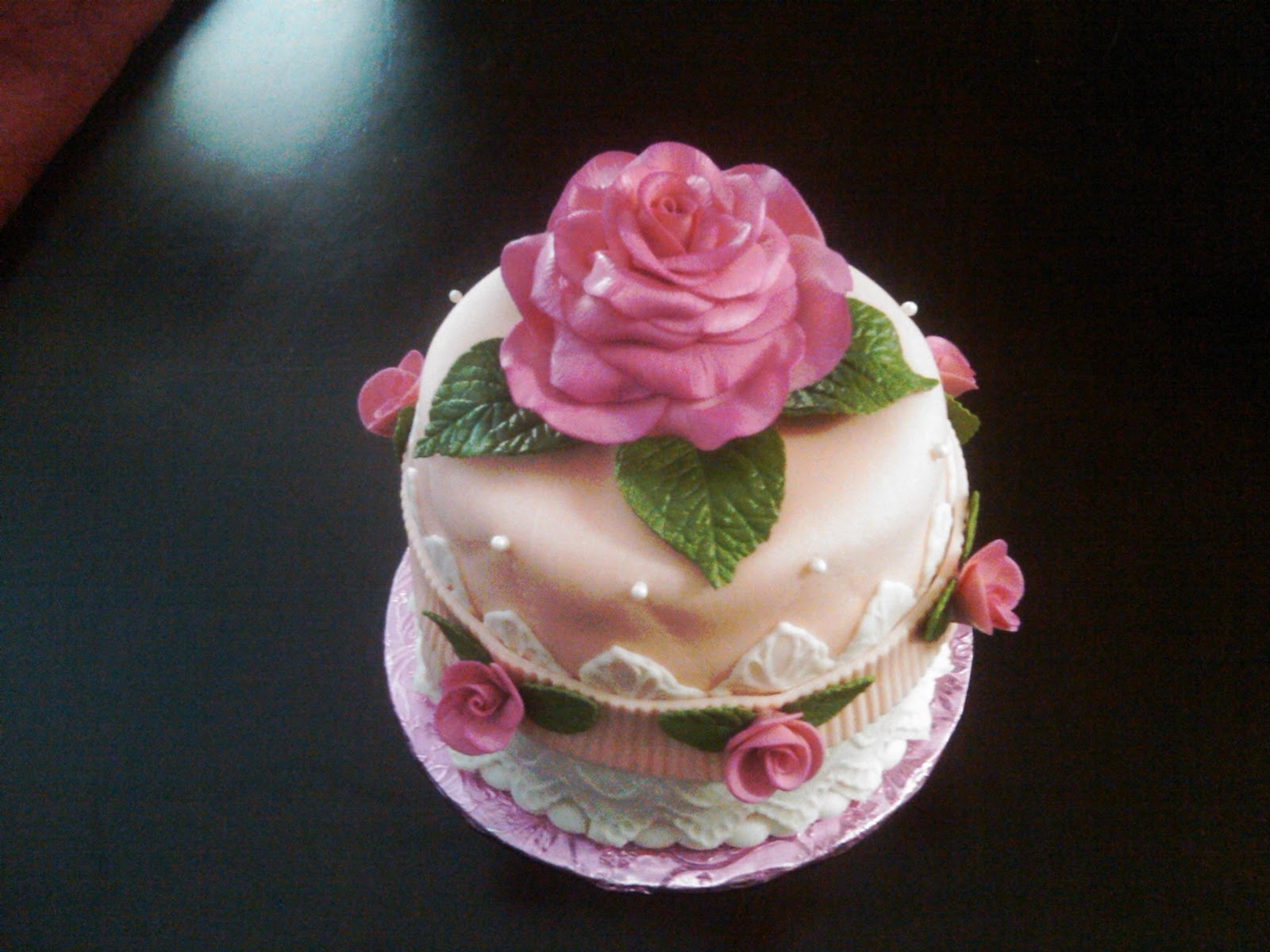 Best ideas about Roses Birthday Cake . Save or Pin Fabbylicious Cakes Rose Birthday Cake Now.