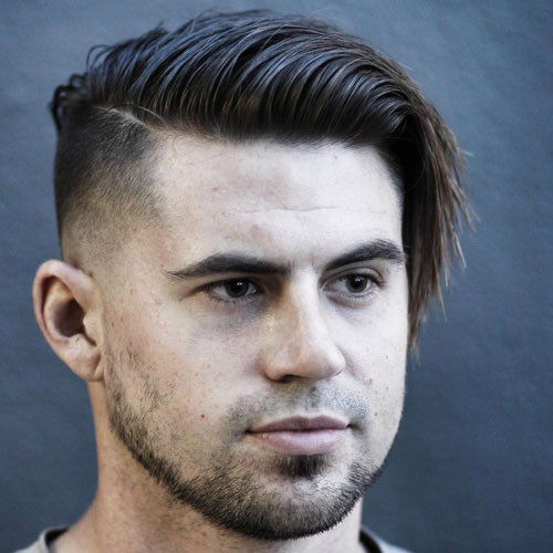 Round Face Haircuts Male  Best Hairstyles For Men With Round Faces