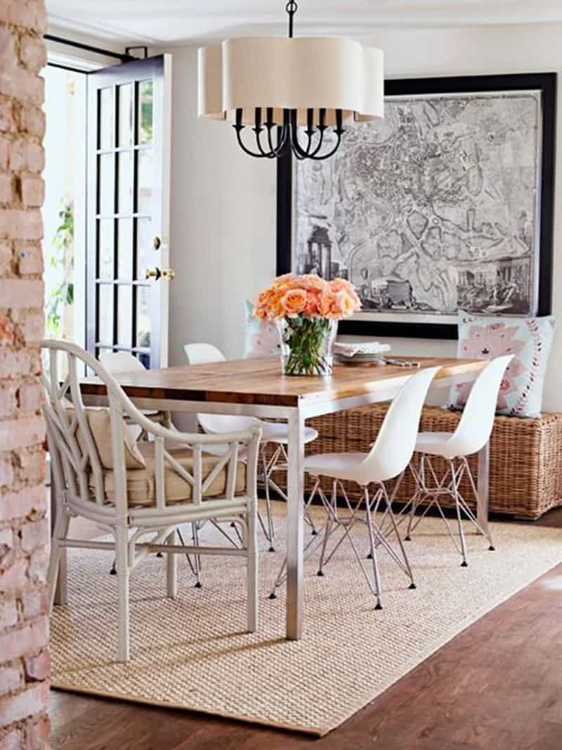 Best ideas about Rugs For Dining Room . Save or Pin How to Pick a Rug for Your Dining Room Now.
