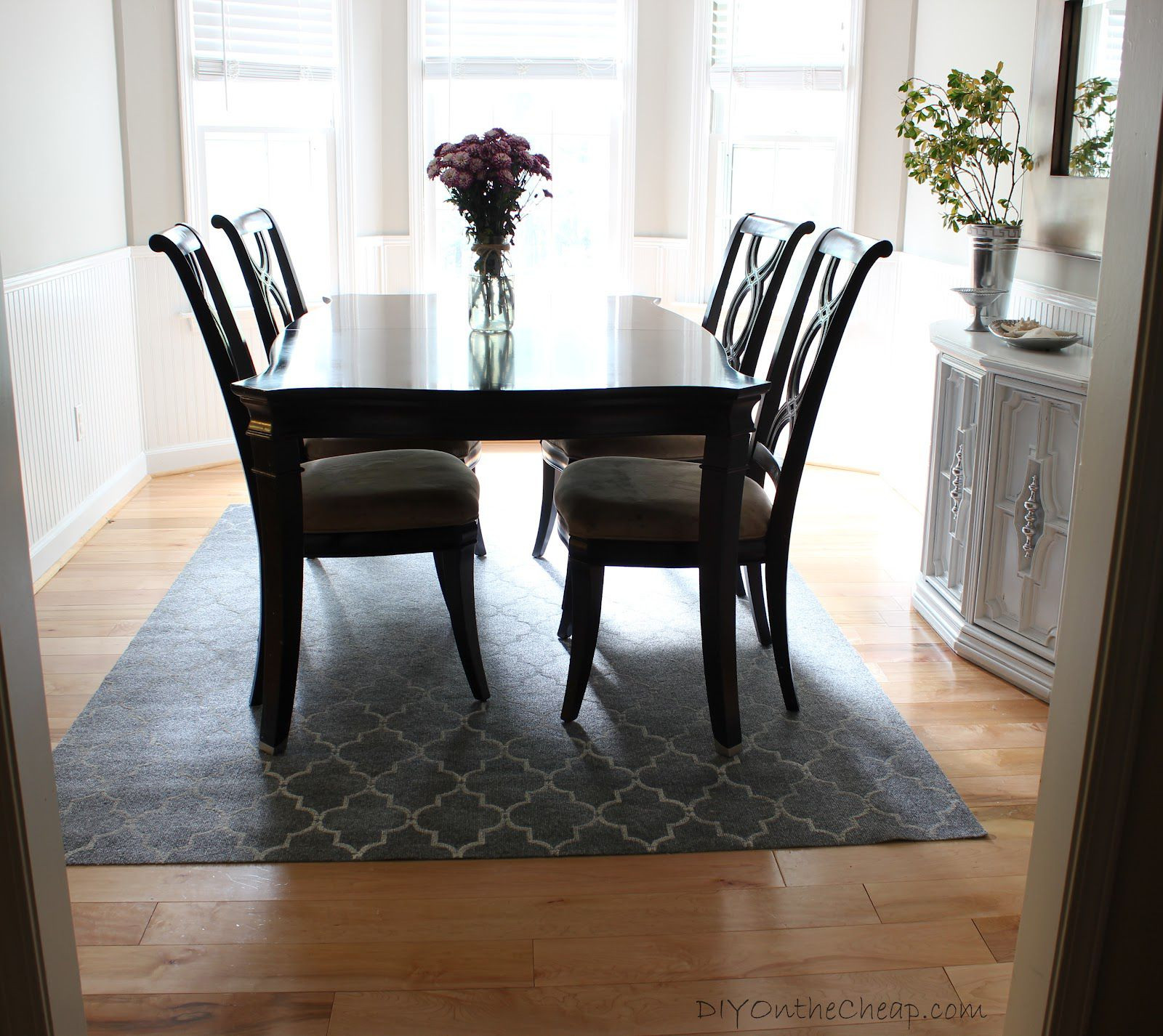 Best ideas about Rugs For Dining Room . Save or Pin How to Create Perfect Modern Dining Room MidCityEast Now.