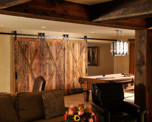 Best ideas about Rustic Basement Ideas . Save or Pin Basement Decorating Ideas with Modern and Rustic Themes Now.