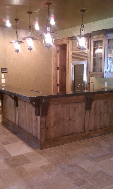 Best ideas about Rustic Basement Ideas . Save or Pin Miners Bar Rustic Basement cleveland by Man Caves Now.