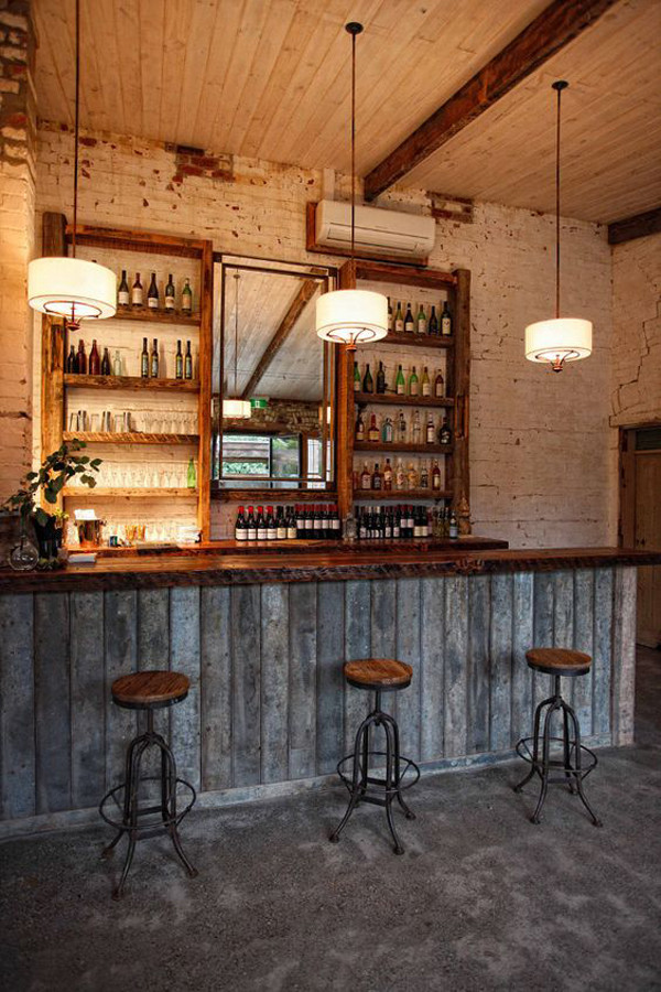 Best ideas about Rustic Basement Ideas . Save or Pin 25 Cool And Masculine Basement Bar Ideas Now.