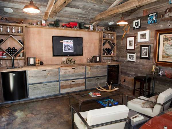 Best ideas about Rustic Basement Ideas . Save or Pin 10 Masculine Man Cave Ideas Now.