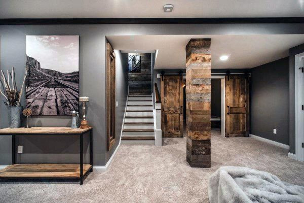 Best ideas about Rustic Basement Ideas . Save or Pin Top 60 Best Rustic Basement Ideas Vintage Interior Designs Now.