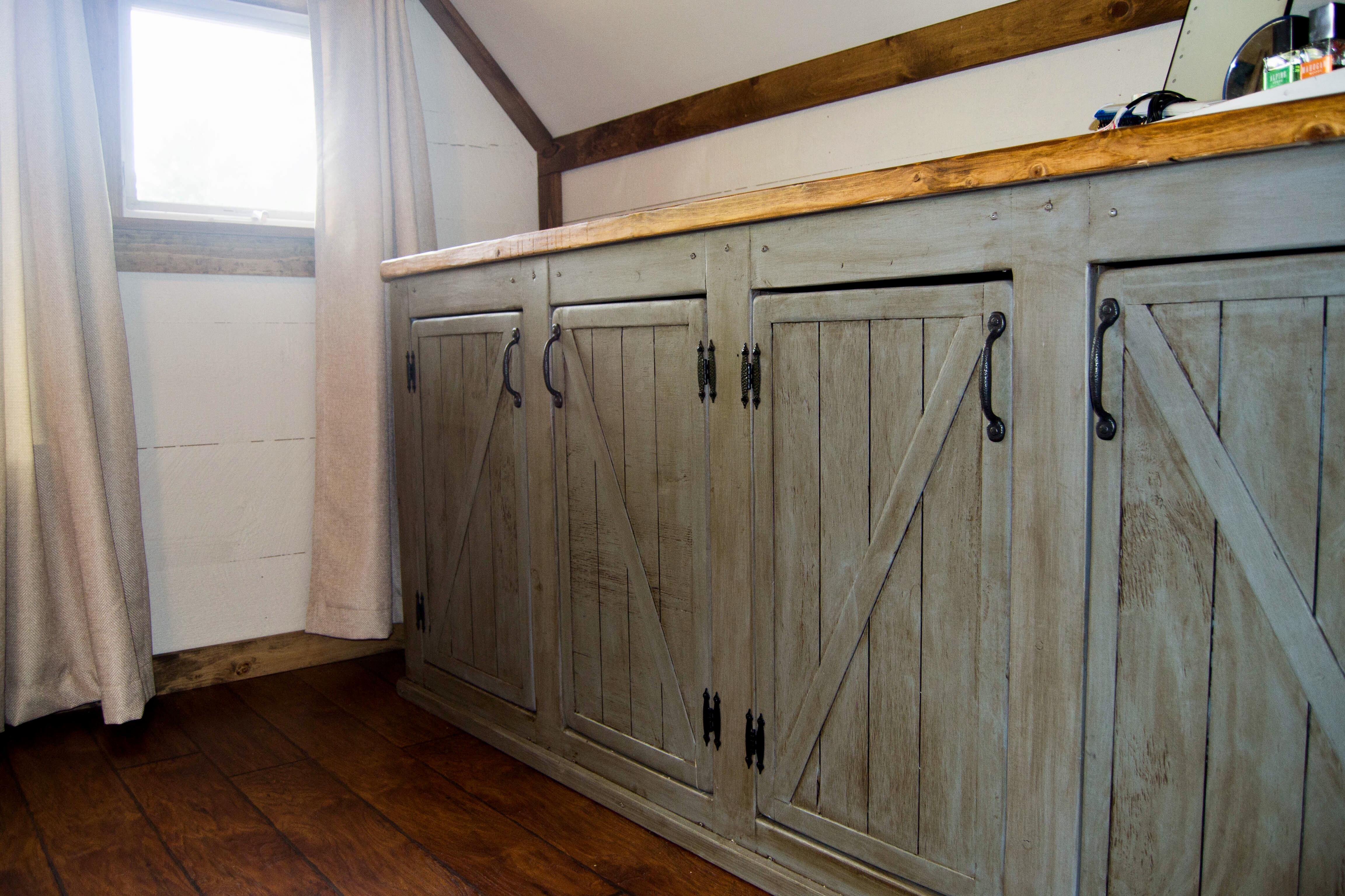 Best ideas about Rustic Cabinets DIY . Save or Pin Ana White Now.