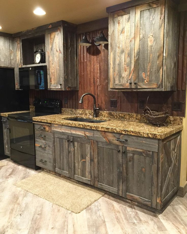 Best ideas about Rustic Cabinets DIY . Save or Pin Best 25 Barn wood cabinets ideas on Pinterest Now.
