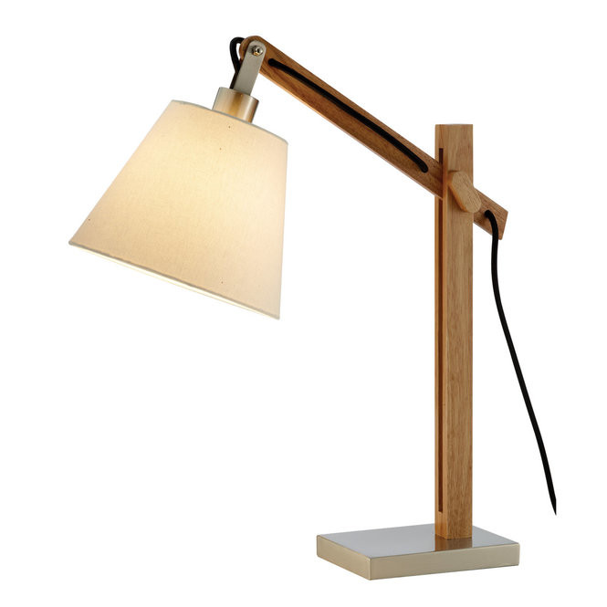 Best ideas about Rustic Desk Lamp . Save or Pin Rustic Arc Table Lamp Shades of Light Now.